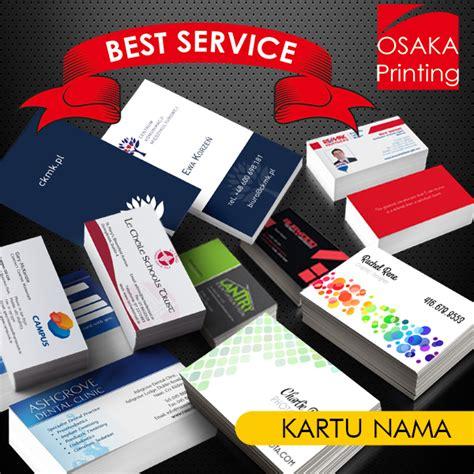 Print Kartu Nama Color kartu nama murah berkualitas osaka printing percetakan dan fotocopy 24 jam jakarta timur