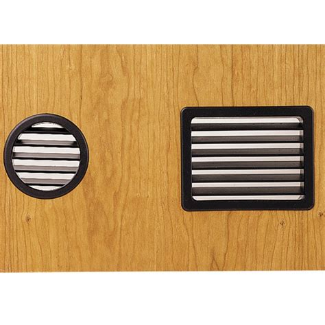 cabinet door air vents large vent grommets select option rockler woodworking
