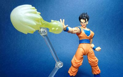 Figure Shf Effect Aura Energy Yellow Bootleg Murah sh figuarts z ultimate gohan brave fortress