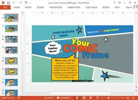 comic powerpoint template 39 best images about powerpoint on templates for powerpoint literature and paper