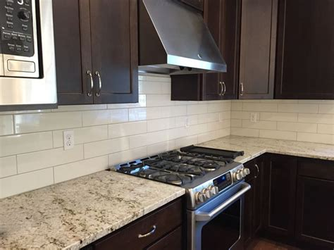 white kitchen cabinets with granite precious 28 backsplash ideas 1000 images about kitchens by belmark on pinterest