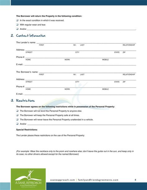 Loan Waiver Letter Format Printable Sle Personal Loan Agreement Form Laywers Template Forms