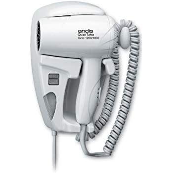andis wall mounted hair dryer black andis 1600 watt wall mounted hangup hair