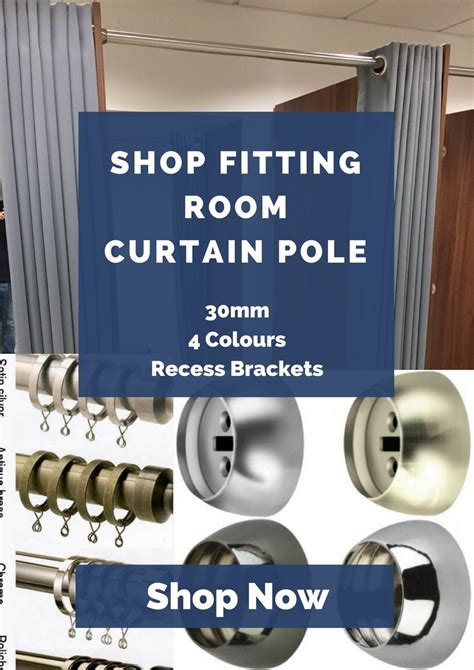 curtain pole to fit in recess recess curtain pole with bracket direct fabrics