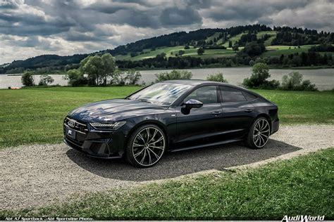 abt audi a7 3 0 tfsi with 425 hp and 22 inch wheels