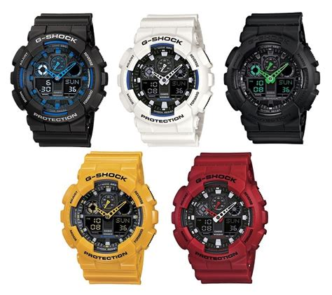 Casio Ga 100 1original reloj casio g shock ga 100 original 100 luz autom 225 tica