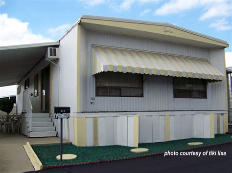 mobile home door awnings 9 innovative mobile home improvement ideas that you can do