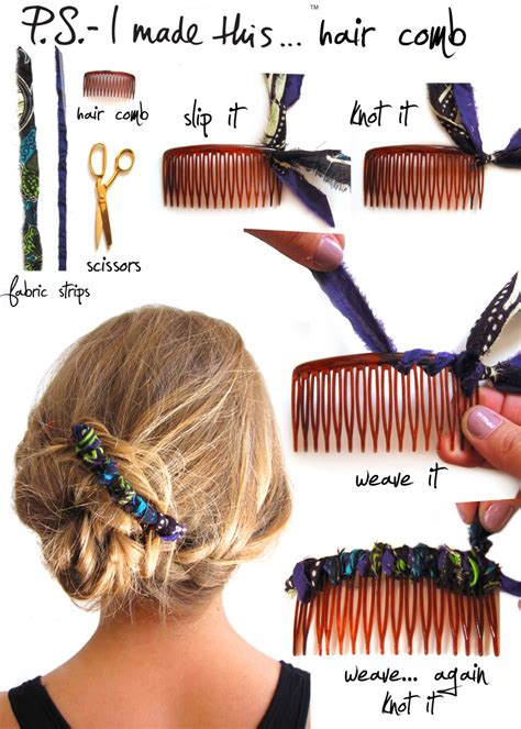 How To Make Handmade Hair Accessories - best hair accessory diys hair