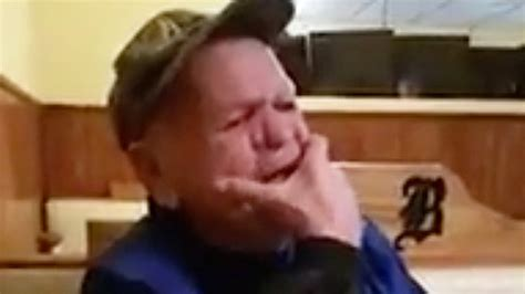 grandpas surprise grandpa surprised to have grandson as his waiter rtm rightthisminute