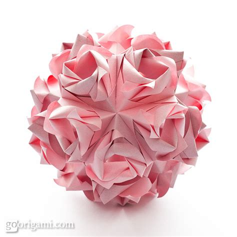 Kusudama Origami - kusudama origami go origami