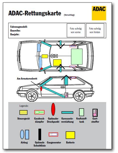Pkw Rettungskarte Aufkleber rettungskarte freiwillige feuerwehr werneck