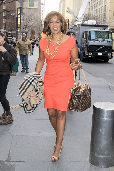 Gayle King Wardrobe by Gayle King Day Dress Gayle King Looks Stylebistro