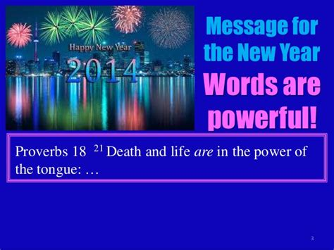 proverbs 15a new year message