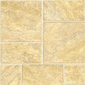 Tarkett Vinyl Flooring Tarkett 12 Ft W Gold Tile Finish Fiberfloor Sheet Vinyl Lowe S Canada