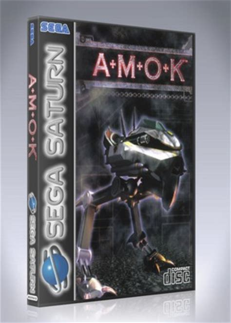 amok saturn sega saturn amok custom retro cases