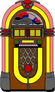 50s Clipart fifties jukebox 3 clip at clker vector clip royalty free domain