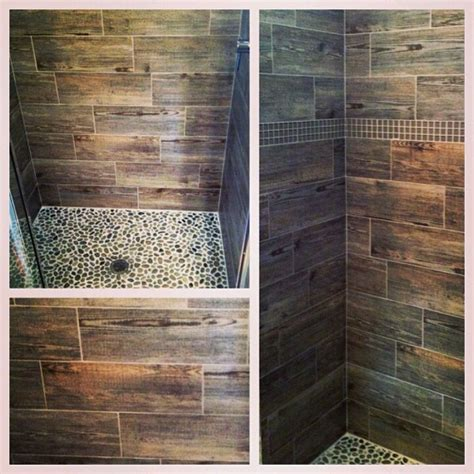 hardwood looking tile cool idea hardwood look ceramic tile for shower walls