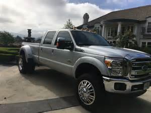 Dually Truck With Semi Wheels For Sale 2013 F 350 Lifted Dually American Wheels Semi