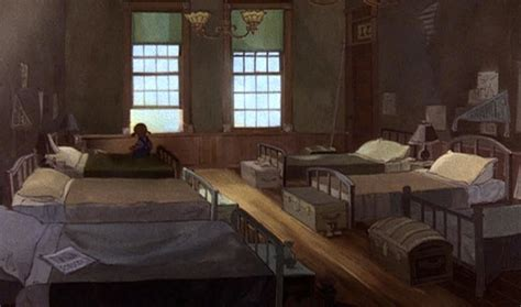 animation backgrounds the rescuers s orphanage