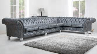 Grey Sofa And Loveseat Set by Corner Sofa English Chesterfields
