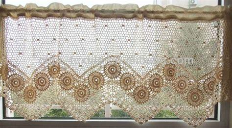patrones cortinas ganchillo patrones cortinas crochet para cocina imagui crochet