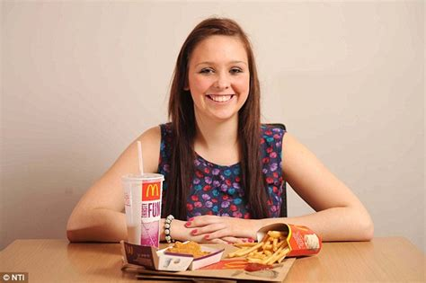 only eats from stacey irvine 17 collapses after only mcdonald s