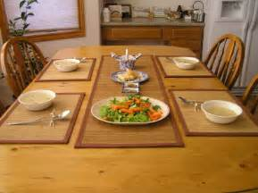 Dining Table Runners And Placemats Green Bamboo Table Runners Placemats 4windsbamboo