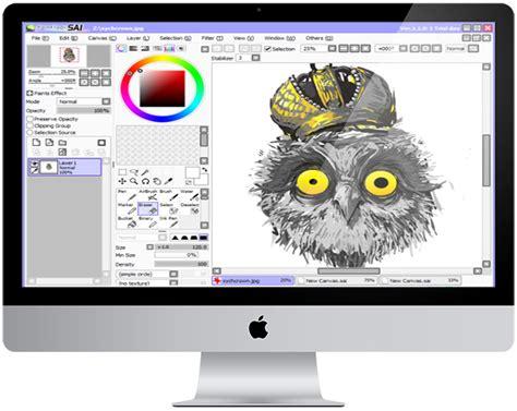 paint tool sai cho mac скачать торрент paint tool sai фото редактор на русском языке
