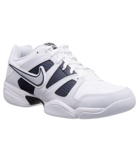 nike white synthetic leather sport shoes price in india