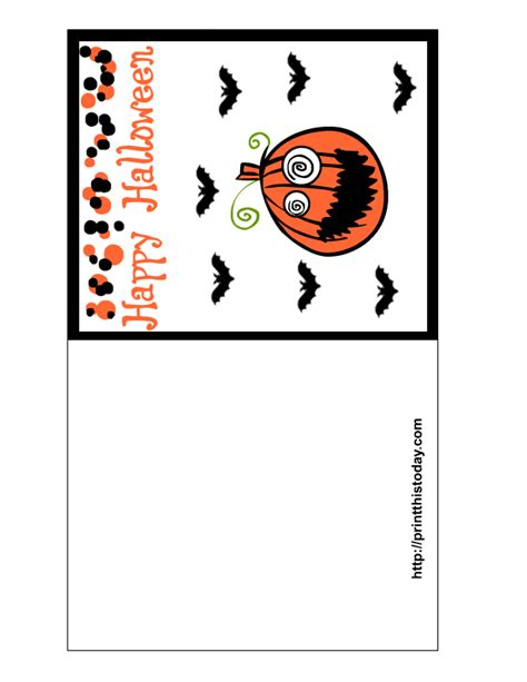 halloween printable greeting cards free printable halloween cards