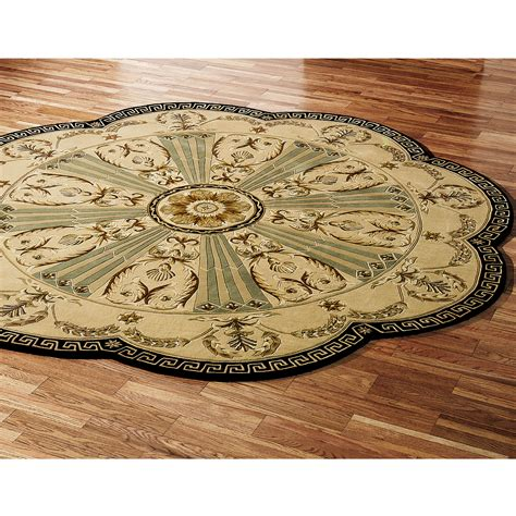 Octagon Area Rugs Roselawnlutheran Octagon Shaped Area Rugs