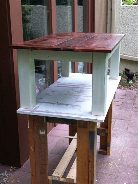 ana white fence board tryde table diy projects