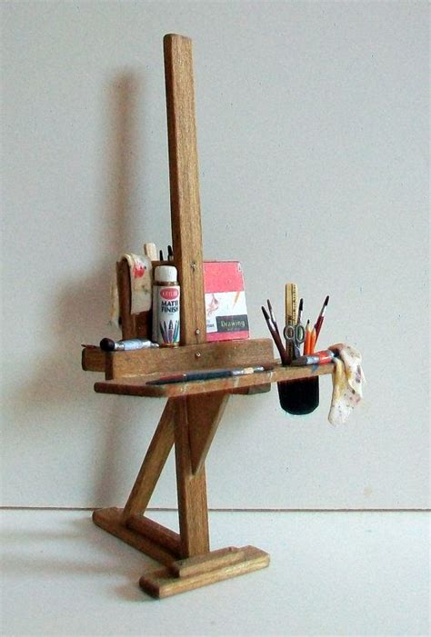 artist bench easel woodworking projects plans
