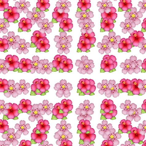 wallpaper flower emoji background emoji flowers gif wallpaper animated gif