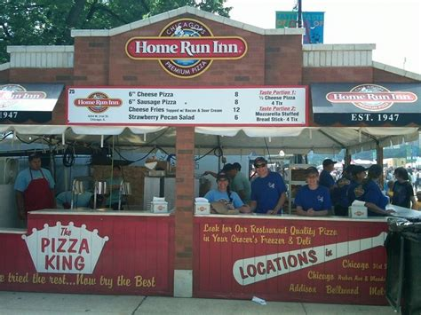 pin by home run inn pizza on history