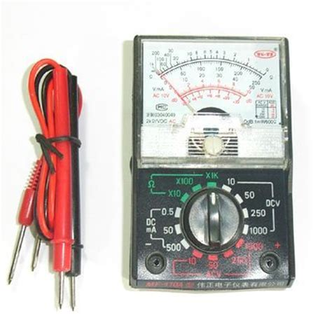 Multitester Analog pro analog multi circuit tester multimeter multitester