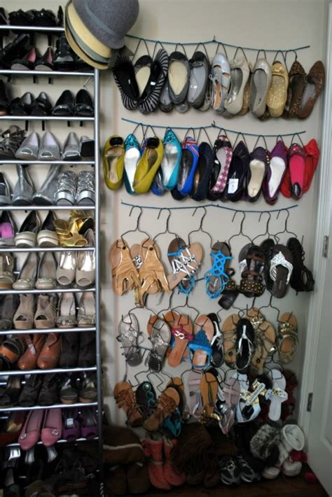 Shoe Closet Organizer Ideas by Remodelaholic Top Ten Shoe Storage Ideas And Link