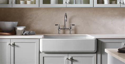 Bridge Style Kitchen Faucets apron front sinks beyond the farmhouse kitchen trends