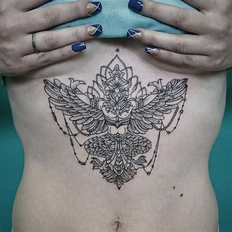 garuda tattoo garuda on stomach best ideas gallery