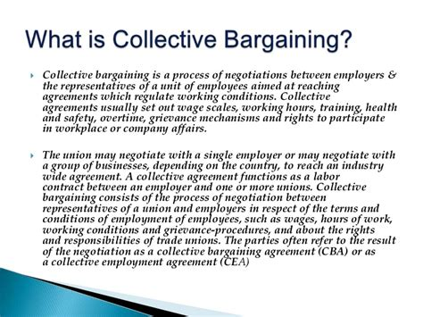 Letter Of Understanding Collective Agreement Collective Bargaining