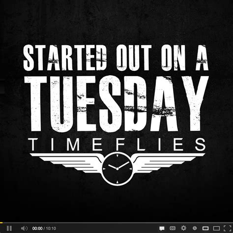 timeflies tuesday i m on timeflies started on a tuesday vol 3 timefliestuesdays free downloads fist in the air