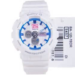 Baby G Casio Dg 120 Blue buy casio baby g ba 120 7b white x blue