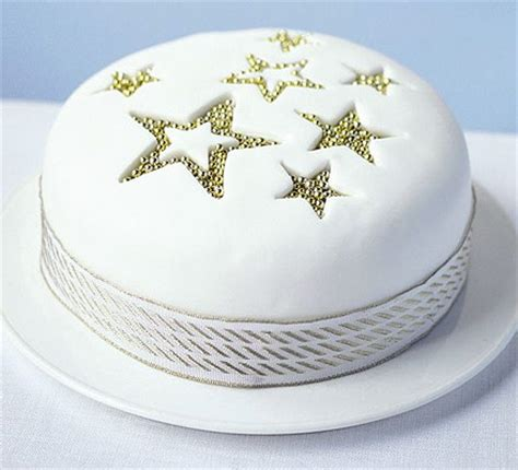 easy christmas cake decorating ideas sparkle cake food