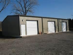 steel garage kit photos mbmi metal buildings