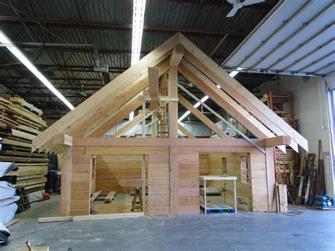 Log Cabin Beams by Gulf Island Reclaimed Post Beam Log Cabin Tamlin Homes