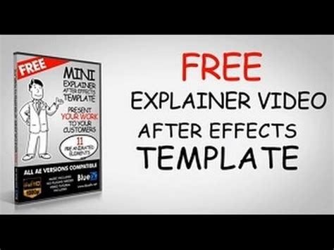 After Effects Tutorials For Whiteboard Animation Explainer Video Free After Effects Templates Whiteboard After Effects Template