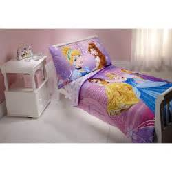 Disney princess 4 pc toddler bedding set by nojo