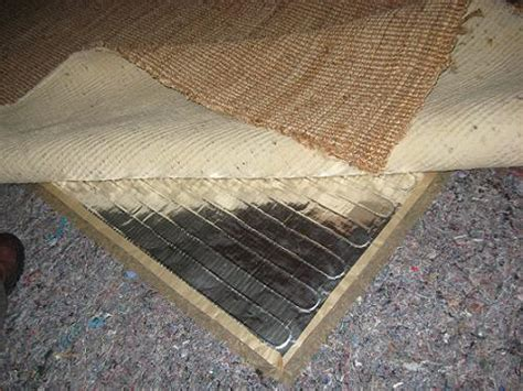 Rug Heater Pad by Heating Installations Heatwaves