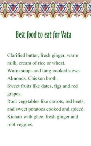 Magic Of Ayurvedic Detox Pancharkama Pdf by Best Food For Vata Vatta Dosha Diet
