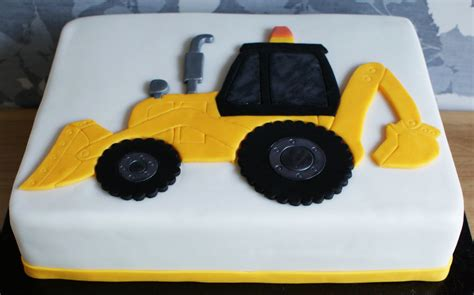 Digger Cake Template by Digger Jcb Cake Fondant Cakes In Lahore Free Delivery